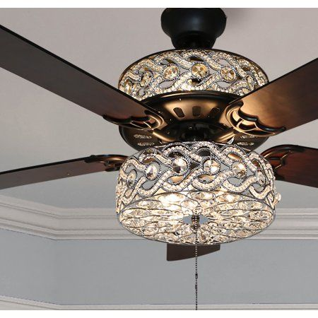 Home Ceiling Fan With Remote Ceiling Fan Chandelier Led