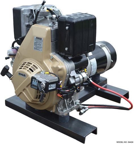 Kohler Diesel 6 500 Watt Diesel Generator Diesel Generators Small Diesel Generator Diesel