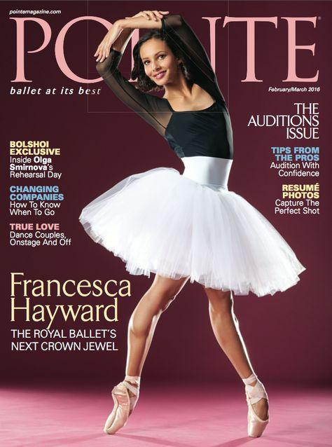 Royal Ballet first soloist Francesca Hayward is our February\/March - ballet dancer resume