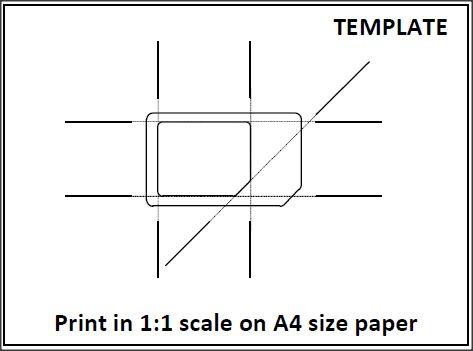sim card to micro sim template Resume Builder Resume Templates - micro sim template