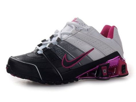 sports shoes 13bb3 a73c2 ... ireland chaussures nike shox nz noir blanc rose nike12075 50.93 nike  chaussure pas chernike blazer and