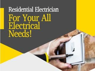 Residential Electrician For Your All Electrical Needs | Electrician,  Electricity, Residential electrical