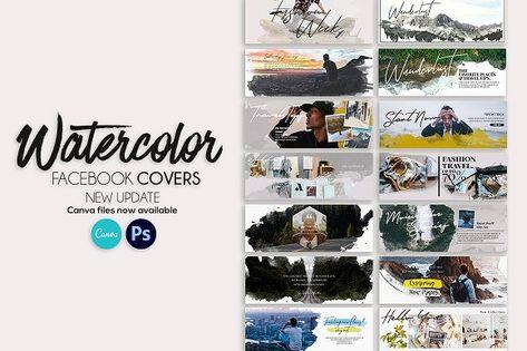 Facebook Covers Watercolor