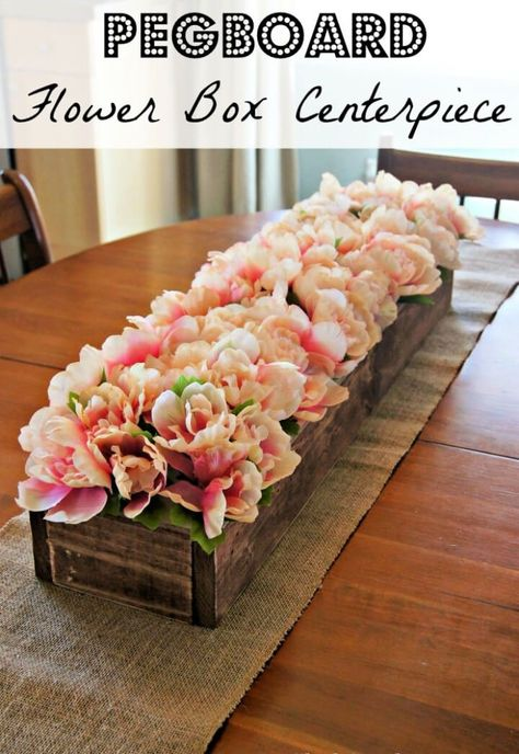 20 DIY Flowerbox Centerpieces Ideas You Can Make Yourself ...