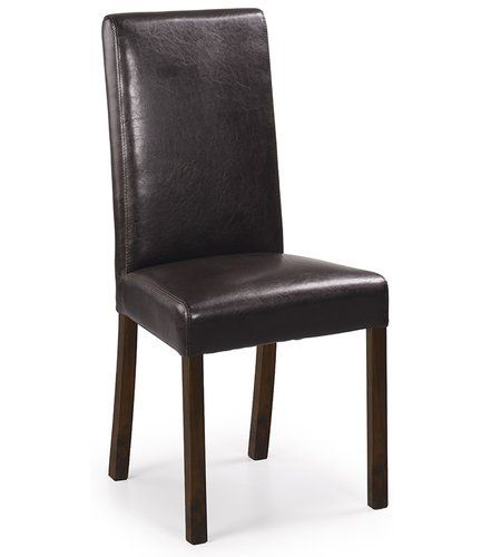 Alaska Dining Chair Moycor Upholstery Brown Solid Wood Dining