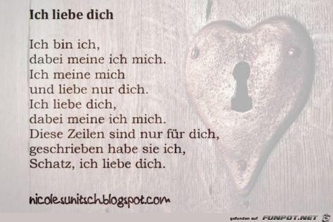 Ich Mag Dich Gedicht Romantische Liebeserklarungen Zum Liebe