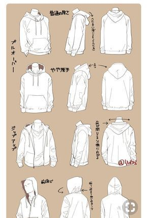 Anyone Want Help Drawing Clothes Imgur Arttutorial Art Tutorial Clothes In 2020 Drawing Anime Clothes Drawing Clothes Hoodie Drawing