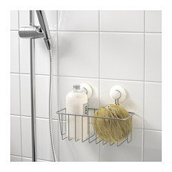 Immeln Shower Basket Zinc Plated 9 X5 With Images