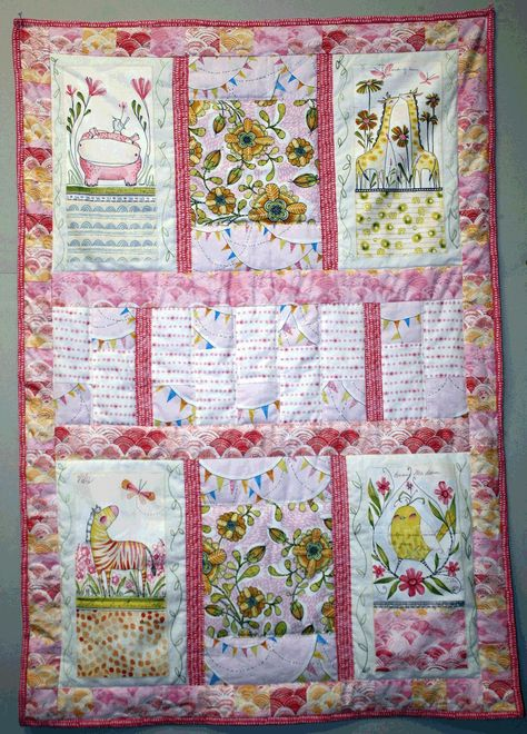 Quilt Kit in Pink
