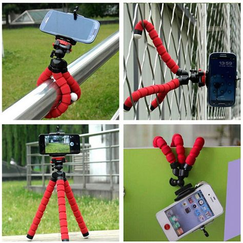 Universal pulpo flexible soporte Trípode para teléfono celular Cámara