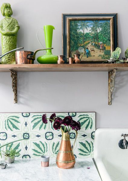 Green With Envy - A Designer's Home That Takes Wallpaper To The Next Level - Photos
