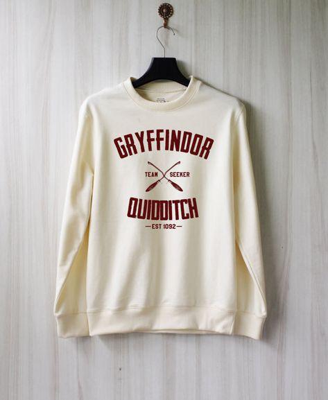 Gryffindor Quidditch Harry Potter Shirt Sweatshirt. I want it.