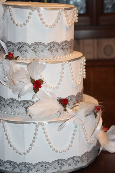 Fait Maison Gâteau Urne Pour Mariage Fait Maison Urne