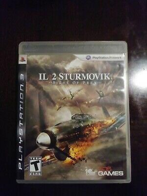 Il 2 Sturmovik Birds Of Prey Sony Playstation 3 2009 Complete Ps3 Ps4 Gaming Video Birds Of Prey Prey Birds