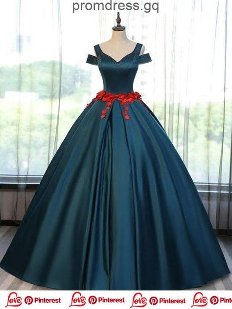Dark Green Satin /& Lace Party Dress fits American Girl Doll