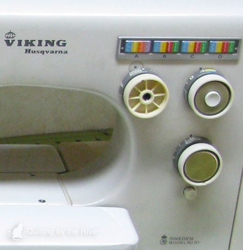 Viking Husqvarna 6020 | Vintage Sewing Machines--Info, Care ... on