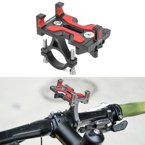 BIKIGHT CNC Motorcycle E-bike Bike Bicycle Cycling Phone Holder For iPhone XS XR