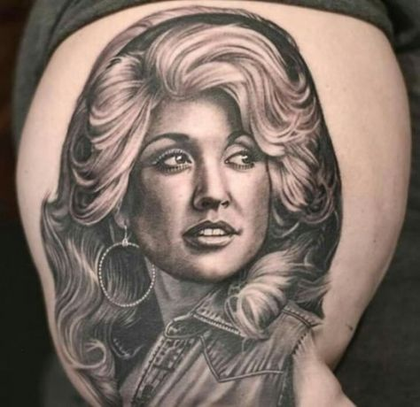 5 Dolly Parton Tattoos