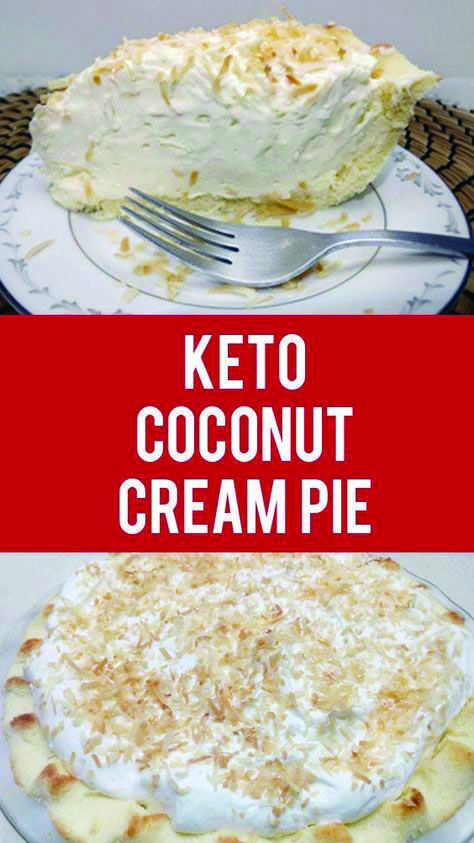 Low Carb Chocolate Keto Dessert Recipes Coconut Cream Pie Recipes Keto Recipes Easy
