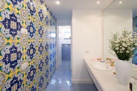 rivestimenti bagno vietri - Cerca con Google | Bagno ...
