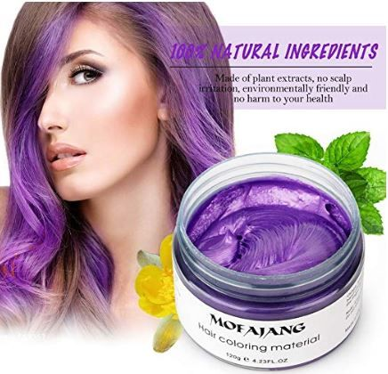Best Color Hair Wax To Improve Your Style In 2021 Review Hair Wax Temporary Hair Dye Hair Dye Colors