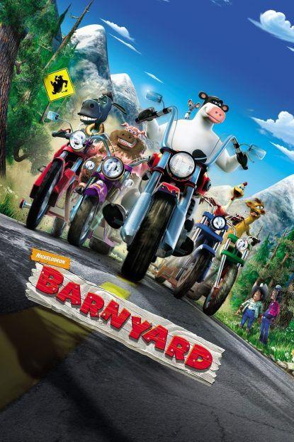 دانلود انیمیشن حیاط مزرعه Barnyard 2006 با دوبله فارسی دانلود