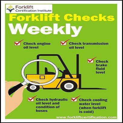 Forklift Safety Forklifttraining Forkliftcertification Health