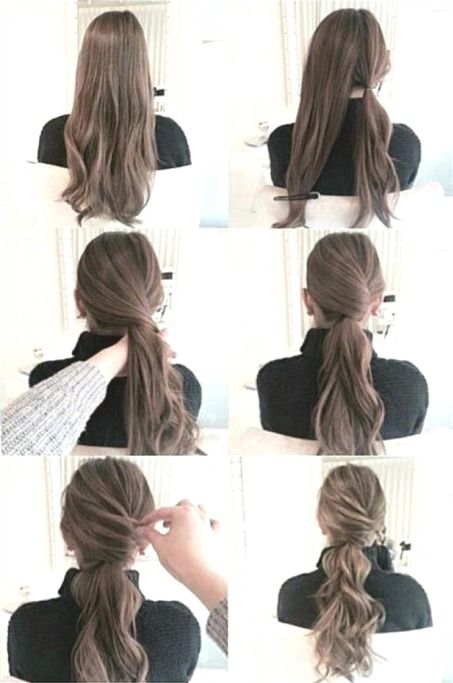 Tutorial Videos Diy Lovely Hairstyle Hairdo Braid Gorgeous Stunning Perfect Haircut Hair Color Long Ha Pinterest Hair Hair Styles Thick Hair Styles