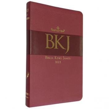 Biblia King James Fiel 1611 Ultrafina Vermelho Bl044