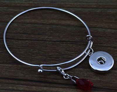 DIY handmade button Alex&Ani silver Round bracelet Bangle j1832 - http://designerjewelrygalleria.com/alex-ani/diy-handmade-button-alexani-silver-round-bracelet-bangle-j1832/
