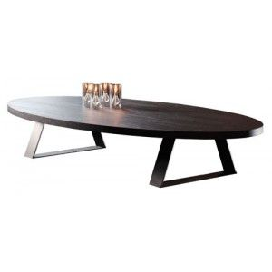 BINO | Oval coffee table | Steel coffee table, Oval coffee tables ...