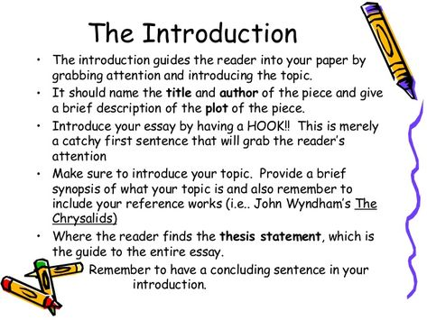 How To Write An Informal Essay Introduction Pictures  How To Write  English Essay Introduction Example  Google Search