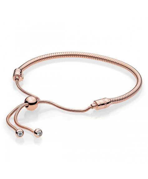 Pandora Rose Bracelet Coulissant Moments | Pandora jewelry charms ...