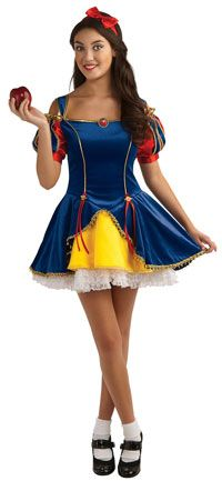 SHELBY would look cute! Teen Snow White Princess Costume - Princess Costumes  sc 1 st  Pinterest & Halloween Costumes for Tween Girls Aged 9-14 | Tween halloween ...