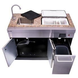 Char Broil Modular Outdoor Kitchen Medallion Modular Sink And Cooler Lowes Com Modular Outdoor Kitchens Outdoor Kitchen Cabinets Outdoor Kitchen