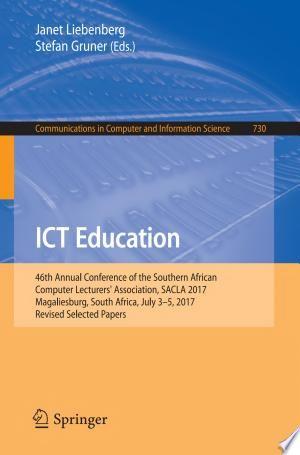 Ict Education Pdf Download Information Processing Applied Economics Computer Science