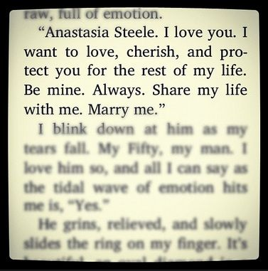 fifty shades of grey christian grey ana steele quote love marriage  fifty shades of grey christian grey ana steele quote love marriage cute marry me books movies and music must haves greys ana
