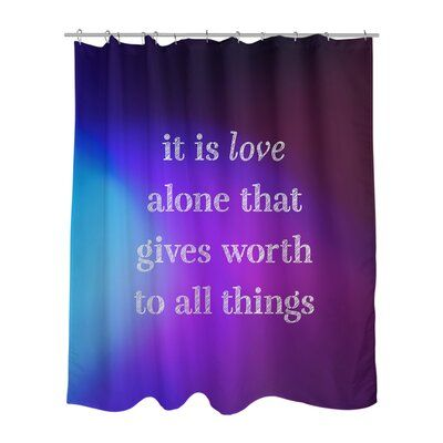 East Urban Home Multicolor Background Love Inspirational Quote