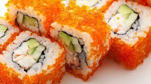 طريقة عمل سوشي كاليفورنيا رول Recipe California Roll Recipes Sushi Rolls Food