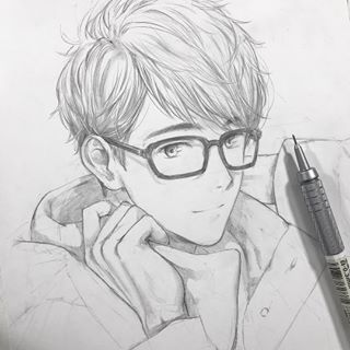 Image May Contain Drawing Anime Boy Sketch Anime Drawings Sketches Anime Sketch