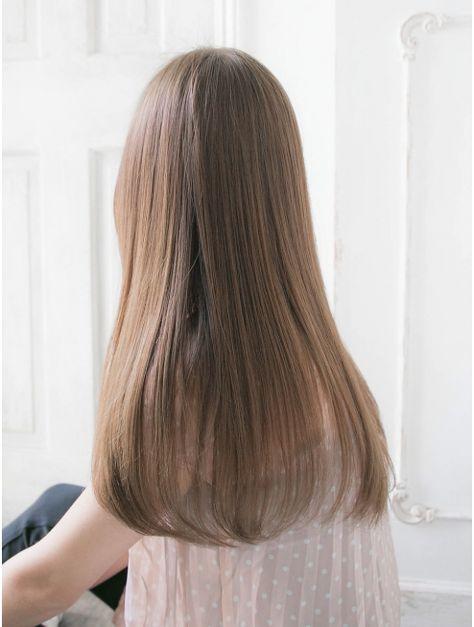 リリアン 表参道(relian) 自然な縮毛矯正/ベージュ系カラーが