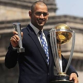 Happy Birthday Mahi Msd Happy Birthday Mahi Msd World Cup Trophy Ms Dhoni Photos World Cup