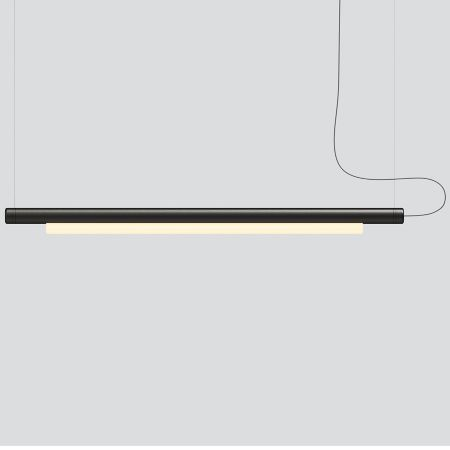 Pipeline 125 Led Linear Suspension Light In 2020 Suspension Light Linear Suspension George Nelson Bubble Lamp