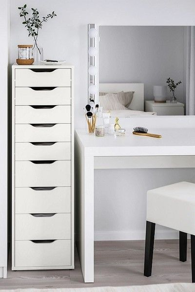 Clever Ikea Hacks All Women Should Know In 2021 Ikea Bedroom Storage Ikea Bedroom Ikea Wardrobe Hack