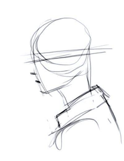 Como Dibujar Un Rostro De Perfil Art Reference Poses Anatomy Drawing Vintage Cartoon