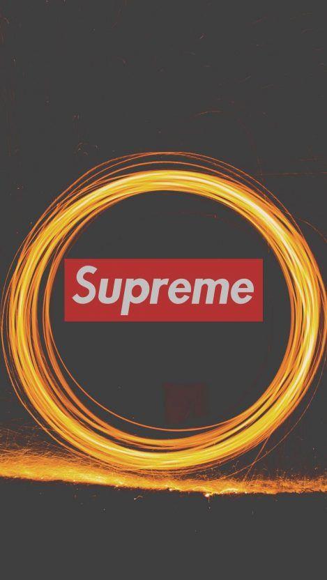 Supreme Logo Fireworks Iphone Wallpaper Fond Ecran Iphone Iphone Ecran Iphone