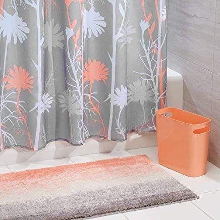 Mdesign 3er Set Bad Accessoires Badgarnitur Aus Polyester
