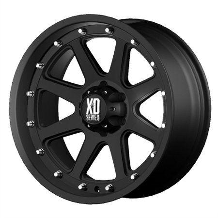17 Black Addict Xd798 Wheel By Kmc Wheels Xd79879068712n Walmart Com In 2020 Black Truck Black Wheels Jeep Wheels