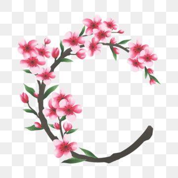 Cadre Fleur De Cerisier Clipart Fleur De Cerisier Fleur Cadre Png Et Vecteur Pour Telechargement Gratuit Cadre Fleur Clipart Fleurs Fleur De Cerisier