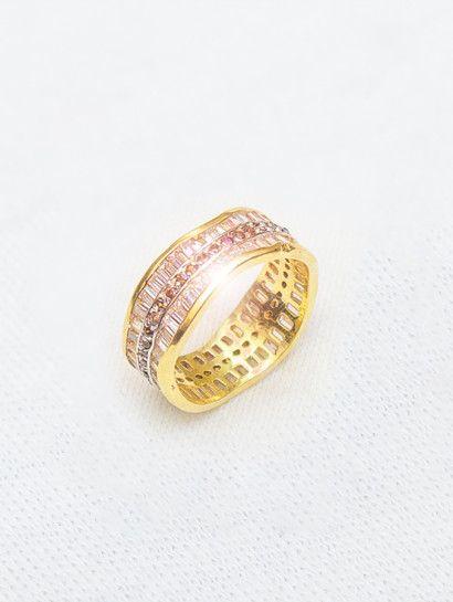 خاتم ذهب عيار 18 محبس عريض Wedding Rings Engagement Rings Jewelry